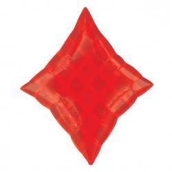"Red Diamond Balloon - 19"" Foil"