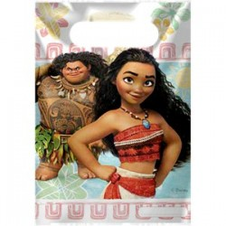 MOANA - 6 PARTY BAGS